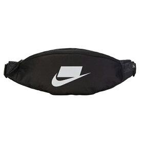 ナイキ メンズ ヘリテージ ヒップ パック ウェストポーチ Nike Heritage Hip Pack Black Black White