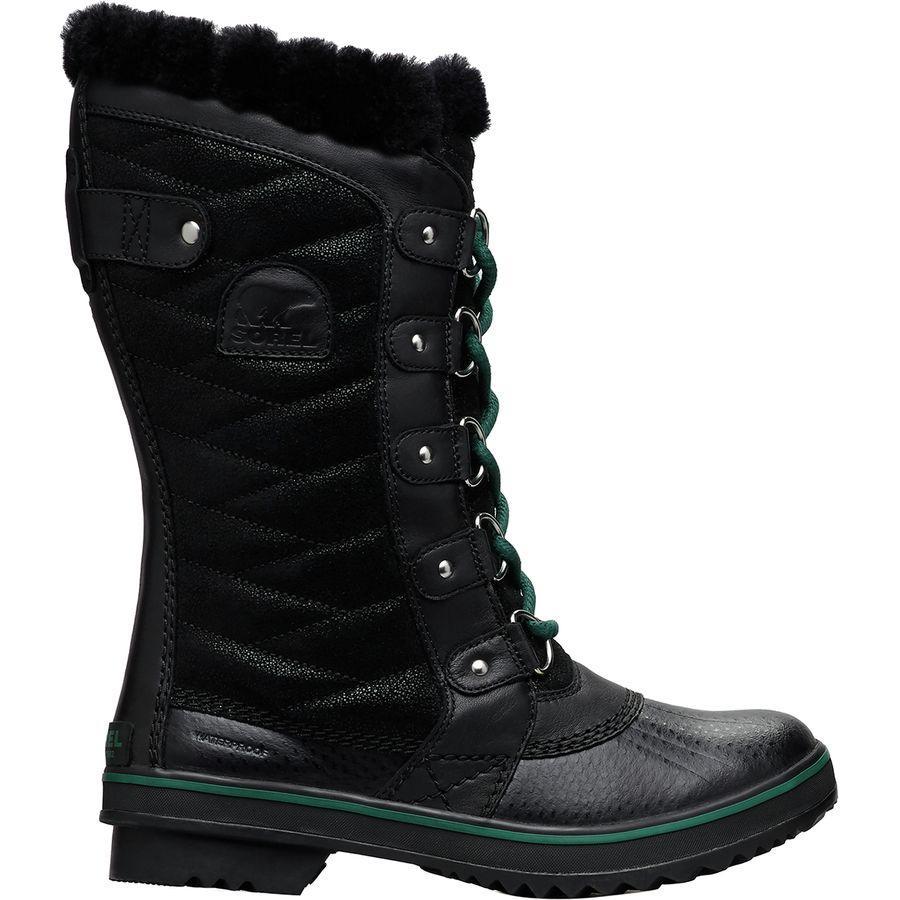 (取寄)ソレル レディース トフィーノ 2 ラックス ブーツ Sorel Women Tofino II Lux Boot Black