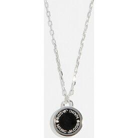 (取寄)マークジェイコブス ロゴ ディスク ペンダント ネックレス Marc Jacobs Logo Disc Pendant Necklace Black Argento