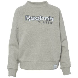 (取寄)リーボック レディース アイコニック フリース クルー Reebok Women's Iconic Fleece Crew Medium Grey Heather