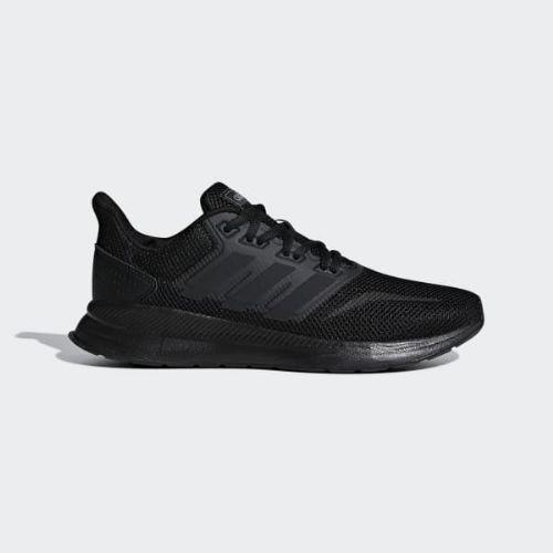 (取寄)アディダス レディース ランファルコン ランニングシューズ adidas Women Runfalcon Shoes Core Black / Core Black / Core Black