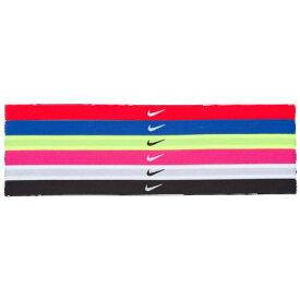 (取寄)ナイキ レディース スウッシュ スポーツ ヘッドバンド Nike Women's Swoosh Sport Headbands Sold as a Set of 6
