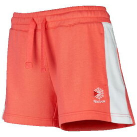 (取寄)リーボック レディース クラシック フィット ショーツ Reebok Women's Classic Fit Shorts Bright Rose White