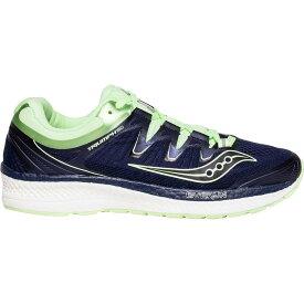 (取寄)サッカニー レディース トライアンフ Iso 4 ランニングシューズ Saucony Women Triumph Iso 4 Running Shoe Navy/Mint