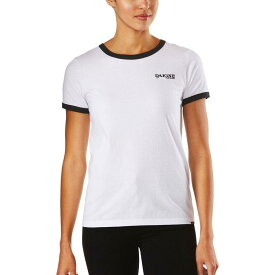 (取寄)ダカイン レディース スティービー リンガー Tシャツ DAKINE Women Stevie Ringer T-Shirt White/Black