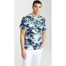(取寄)ケンゾー ケンゾー パリス オール オーバー プリント ショット スリーブ ティー シャツ KENZO Kenzo Paris All Over Print Short Sleeve Tee Shirt White