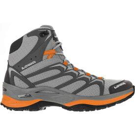 (取寄)ローバー レディース イノックス ミッド ハイキング ブーツ Lowa Women Innox Mid Hiking Boot Gray/Mango
