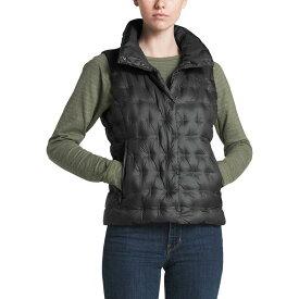 【マラソン ポイント10倍】(取寄)ノースフェイス レディース ホラダウン クロップ ダウン ベスト The North Face Women Holladown Crop Down Vest Asphalt Grey