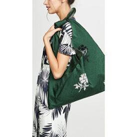 (取寄)トリーバーチ ゾエ エンベリッシュ タイ バッグ Tory Burch Zoe Embellished Tie Bag BanyanGreen