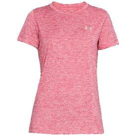 アンダーアーマー レディース テック ショート スリーブ Tシャツ Underarmour Women's Tech Short Sleeve T-Shirt Impulse Pink