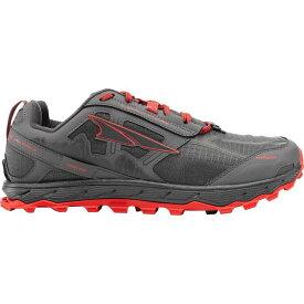 (取寄)アルトラ メンズ ローン ピーク 4.0トレイル ランニングシューズ Altra Men's Lone Peak 4.0 Trail Running Shoe Gray/Orange