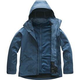 (取寄)ノースフェイス メンズ アペックス ストーム ピーク トリクラメイト ジャケット The North Face Men's Apex Storm Peak Triclimate Jacket Blue Wing Teal