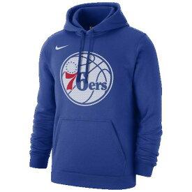 【クーポンで最大2000円OFF】(取寄)ナイキ メンズ NBA クラブ フリース プルオーバー フーディ フィラデルフィア セブンティシクサーズ Nike Men's NBA Club Fleece Pullover Hoodie フィラデルフィア セブンティシクサーズ Rush Blue