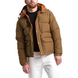(取寄)ノースフェイス メンズ ダウン シエラ 3.0 ジャケット The North Face Men's Down Sierra 3.0 Jacket Cedar Brown/Papaya Orange