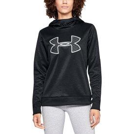 (取寄)アンダーアーマー レディース シンセティック BLQ4 フリース プルオーバー Under Armour Women Synthetic BL Q4 Fleece Pullover Black/Black/Black