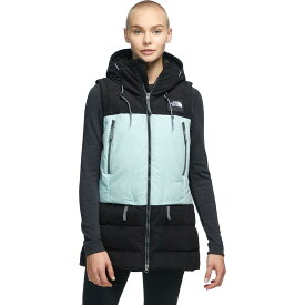 【クーポンで最大2000円OFF】(取寄)ノースフェイス レディース パリー ダウン ベスト The North Face Women Pallie Down Vest Tnf Black/Cloud Blue