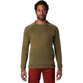 (取寄)マウンテンハードウェア メンズ ファイヤータワー ロングスリーブ クルー トレーナー Mountain Hardwear Men's Firetower Long-Sleeve Crew Sweatshirt Combat Green