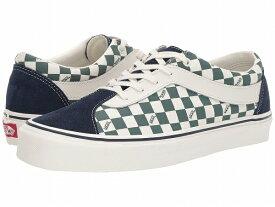 (取寄)Vans(バンズ) スニーカー ボールド ニー ユニセックス メンズ レディース Vans Unisex Bold Ni (Checkerboard) Dress Blues/Trekking Green