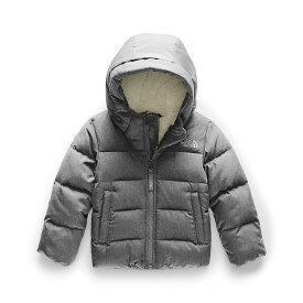 (取寄)ノースフェイス トッドラー ムーンドギー ダウン ジャケット The North Face Toddlers' Moondoggy Down Jacket TNF Medium Grey Heather