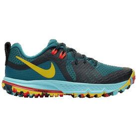 (取寄)ナイキ レディース エア ズーム ワイルドホース 5 Nike Women's Air Zoom Wildhorse 5 Geode Teal Chrome Yellow Black Aurora Green