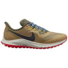 (取寄)ナイキ メンズ ランニングシューズ エア ズーム ペガサス 36 トレイル Nike Men's Air Zoom Pegasus 36 Trail Beechtree Off Noir Cargo Khaki Bright Crimson