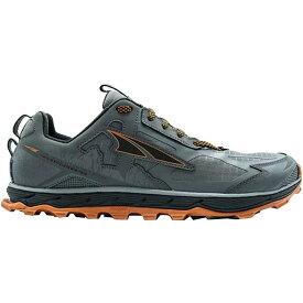 (取寄)アルトラ メンズ ローン ピーク 4.5トレイル ランニングシューズ Altra Men's Lone Peak 4.5 Trail Running Shoe Gray/Orange