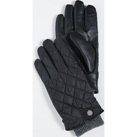 ラルフローレン 手袋 レザーグローブ キルテッド フィールド Polo Ralph Lauren Quilted Field Gloves Black