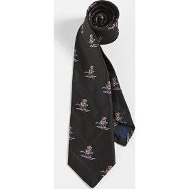 ラルフローレン ネクタイ エクストリーム ベアー ロゴ タイ ブラック Polo Ralph Lauren Extreme Bear Tie Black