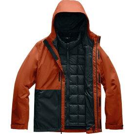 (取寄)ノースフェイス メンズ アルティエ ダウン トリクラメイト フーデッド ジャケット The North Face Men's Altier Down Triclimate Hooded Jacket Picante Red/Tnf Black