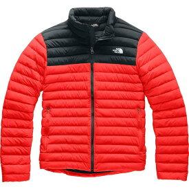 (取寄)ノースフェイス メンズ ストレッチ ダウン ジャケット The North Face Men's Stretch Down Jacket Fiery Red/Tnf Black