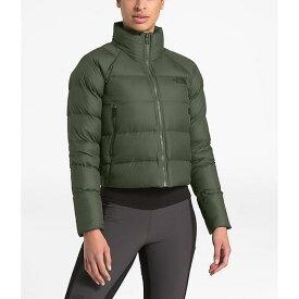 (取寄)ノースフェイス レディース ハイアライト ダウン ジャケット The North Face Women's Hyalite Down Jacket New Taupe Green