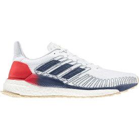 (取寄)アディダス メンズ ソーラー ブースト ランニング シューズ Adidas Men's Solar Boost Running Shoe Running Shoes White/Silver Metallic/Scarlet