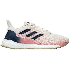 (取寄)アディダス レディース ソーラー ブースト ランニング シューズ Adidas Women Solar Boost Running Shoe Running Shoes White/Silver Metallic/GLOPNK