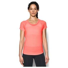 アンダーアーマー レディース フライ バイ ショート スリーブ Tシャツ Under Armour Women's Fly By Short Sleeve T-Shirt Cape Coral Cape Coral Reflective 送料無料