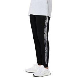 (取寄)アディダス メンズ オリジナルス リビール ユア ボイス テープド パンツ Men's adidas Originals Reveal Your Voice Taped Pants Black White