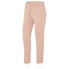 (取寄)ナイキ レディース エッセンシャル タイ フリース パンツ Nike Women's Essential Tie Fleece Pant Echo Pink White
