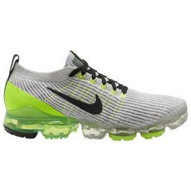 (取寄)ナイキ メンズ エア ヴェイパーマックス フライニット 3 Nike Men's Air Vapormax Flyknit 3 Vast Grey Off Noir Electric Green White