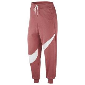 (取寄)ナイキ レディース スウッシュ フリース パンツ Nike Women's Swoosh Fleece Pant Light Redwood Light Redwood White