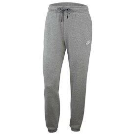 (取寄)ナイキ レディース エッセンシャル ルーズ フリース パンツ Nike Women's Essential Loose Fleece Pant Dark Grey Heather White