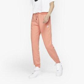 (取寄)ナイキ レディース エッセンシャル フリース ジョガー Nike Women's Essential Fleece Jogger Pink Quartz White