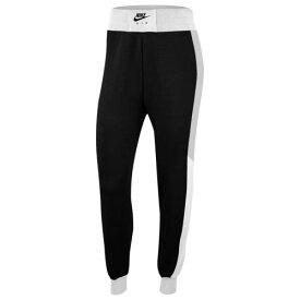 (取寄)ナイキ レディース エア フリース パンツ Nike Women's Air Fleece Pant Black Birch Heather White