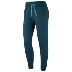 (取寄)ナイキ レディース サーマ フリース オール タイム テーパード パンツ Nike Women's Therma Fleece All Time Tapered Pants Midnight Turquoise Black