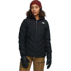 (取寄)ノースフェイス レディース コアファイア フーデッド ダウン ジャケット The North Face Women Corefire Hooded Down Jacket Tnf Black