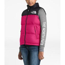 【マラソン ポイント10倍】(取寄)ノースフェイス ユース 1996 レトロ ヌプシ ダウン ベスト The North Face Youth 1996 Retro Nuptse Down Vest Mr. Pink
