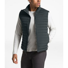 【クーポンで最大2000円OFF】(取寄)ノースフェイス メンズ ストレッチ ダウン ベスト The North Face Men's Stretch Down Vest Asphalt Grey