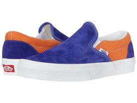 【クーポンで最大2000円OFF】(取寄)Vans(バンズ) スニーカー クラシック スリップ ユニセックス メンズ レディース Vans Unisex Classic Slip (P&C) Royal Blue/Apricot Bff