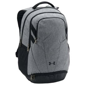 (取寄)アンダーアーマー チーム ハッスル 3.0 バックパック Underarmour Team Hustle 3.0 Backpack Graphite Medium Heather Black White