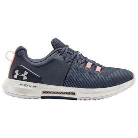 (取寄)アンダーアーマー レディース シューズ ホバー ライズ Underarmour Women's Shoes Hovr Rise Blue Ink White White 送料無料