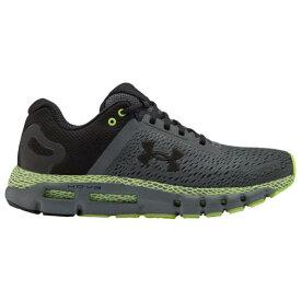 (取寄)アンダーアーマー メンズ シューズ ホバー インフィニット 2 Underarmour Men's Shoes Hovr Infinite 2 Pitch Gray X-Ray Black