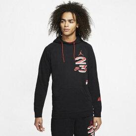 (取寄)ジョーダン メンズ スポーツ DNA フリース プルオーバー フーディ Jordan Men's Sport DNA Fleece Pullover Hoodie Black Red